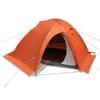 Палатка двухместная Pinguin Vega Extreme (с юбкой) оранжевая - фото 1