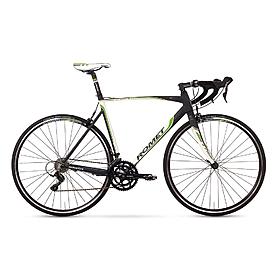 """Велосипед шоссейный Romet Huragan 2.0 28"""" бело-черно-зеленый, рама - 58 см"""