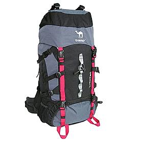Рюкзак туристический Tramp Light 60 серый с черным