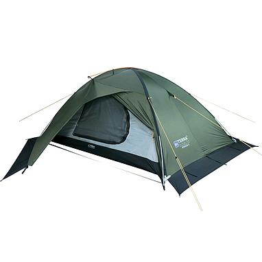 Палатка двухместная Terra Incognita Stream 2 зеленая