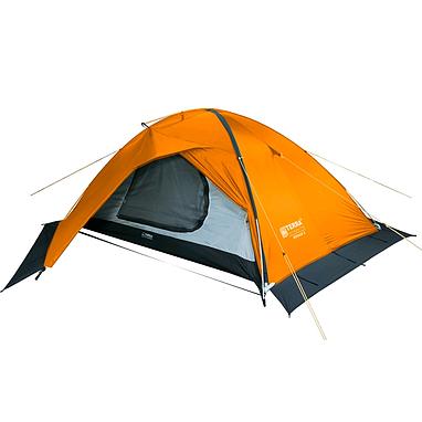 Палатка двухместная Terra Incognita Stream 2 оранжевая