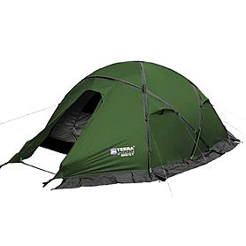 Палатка двухместная Terra Incognita Toprock 2 зеленая
