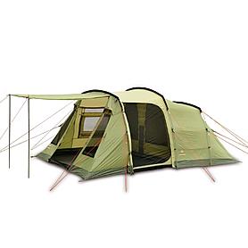 Палатка четырехместная Pinguin Interval 4 зеленая