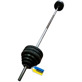 Фото 2 к товару Штанга наборная Newt Home 50 кг - гриф 1,8 м