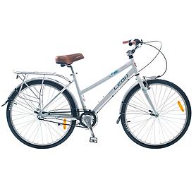 """Велосипед городской женский Leon Solaris Lady 26"""" 2014 белый, рама - 17"""""""