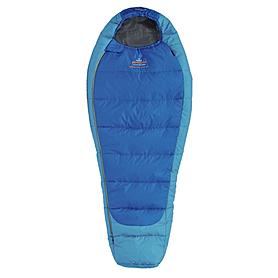 Мешок спальный (спальник) трёхсезонный Pinguin Mistral Junior правый синий