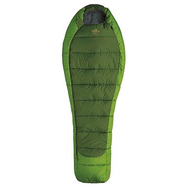 Мешок спальный (спальник) трёхсезонный Pinguin Mistral L PNG 2106 правый зеленый