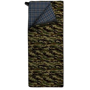 Мешок спальный (спальник) Trimm Tramp 195 правый камуфляжный