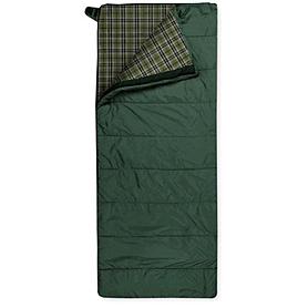 Фото 1 к товару Мешок спальный (спальник) Trimm Tramp 185 правый зеленый