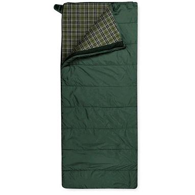 Мешок спальный (спальник) Trimm Tramp 185 правый зеленый