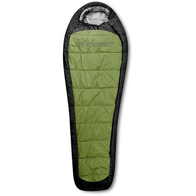 Мешок спальный (спальник) Trimm Impact 185 правый зеленый