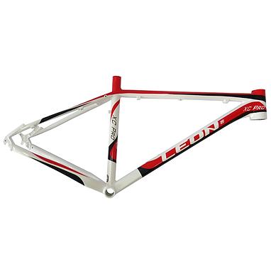 Рама Leon XC Pro 26'' 2014 бело-красная