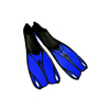 Ласты с закрытой пяткой Dorfin (ZLT) синие, размер - 44-45 ZP-436-BL-XL - фото 1