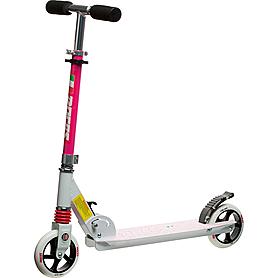 Самокат Roces scooter бело-розовый