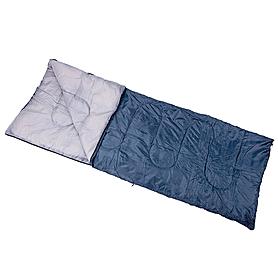 Фото 2 к товару Мешок спальный (спальник) Кемпинг Scout синий