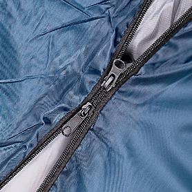 Фото 3 к товару Мешок спальный (спальник) Кемпинг Scout синий