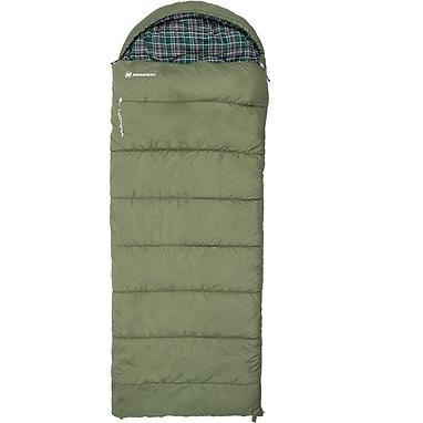 Мешок спальный (спальник) Nordway Yukon зеленый правый N2226XXL-L
