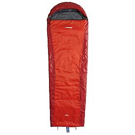 Мешок спальный (спальник) Caribee Plasma Extreme spicy red левый