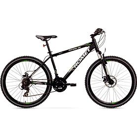 """Велосипед горный Romet Rambler 2.0 26"""" 2015 черный с зеленым - рама 21"""""""