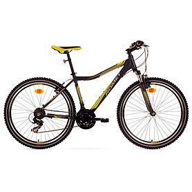 """Велосипед горный Romet Rambler JR 26"""" 2015 черный с зеленым - рама 19"""""""