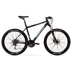 """Велосипед горный Romet Rambler 2.0 27,5"""" 2015 черный с зеленым - рама 21"""""""