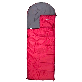 Фото 1 к товару Мешок спальный (спальник) Nordway Toronto красный правый N22230M-R