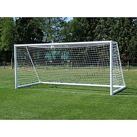 Сетка на ворота футбольные любительская узловая (2шт) С-5008 (PP 1,5мм, яч. 12x12см, PVC чехол)