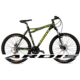 """Велосипед горный Ardis Dinamic - 26"""", рама - 15,5"""", черно-желтый глянцевый (0139-15.5-GL)"""