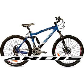 """Велосипед горный Ardis Corsair - 26"""", рама - 17"""", сине-черный (0210-17-BL)"""