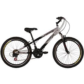 """Велосипед подростковый горный Ardis Forse - 24"""", рама - 12"""", черно-cерый (0109-12-S)"""