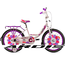 """Велосипед детский Ardis Lillies BMX - 20"""", бело-сиреневый (A20BMX12)"""