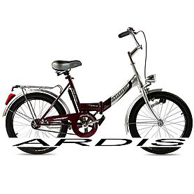 """Велосипед городской женский Ardis Fold CK 20"""" бордовый с освещением, рама - 16"""""""