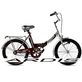 """Велосипед городской женский Ardis Fold CK 20"""" бордовый без освещения, рама - 16"""""""