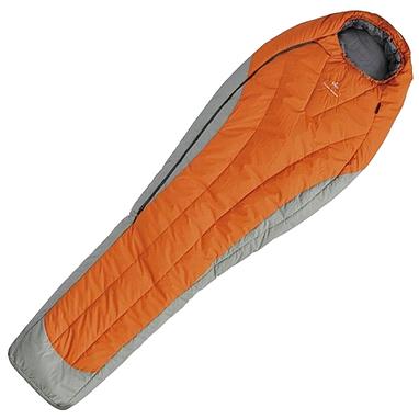 Мешок спальный (спальник) левый Pinguin Expert 185 оранжевый