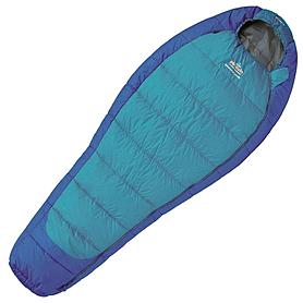 Мешок спальный (спальник) левый Pinguin Mistral Lady 175 синий