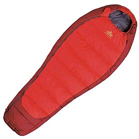 Мешок спальный (спальник) левый Pinguin Mistral Lady 175 красный