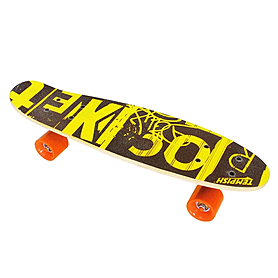 Скейтборд Tempish Rocket черный с желтым