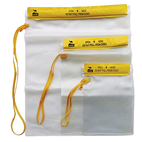 Гермопакет Tramp (26.7x35.6 см) желтый