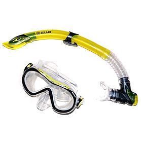Фото 1 к товару Набор для плавания подростковый Dorfin (ZLT) (маска+трубка) желтый