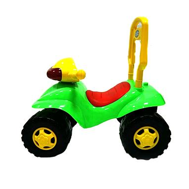Каталка-толокар машина Baby Tilly H-11-IC зеленая