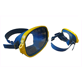 Маска для плавания Акванавт Dorfin (ZLT) PL-3791 синяя