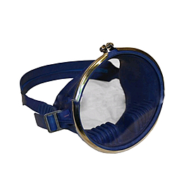 Маска для плавания Акванавт Dorfin (ZLT) PL-4454 синяя