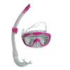 Набор для плавания Dorfin (ZLT) детский (маска+трубка) розовый - фото 1