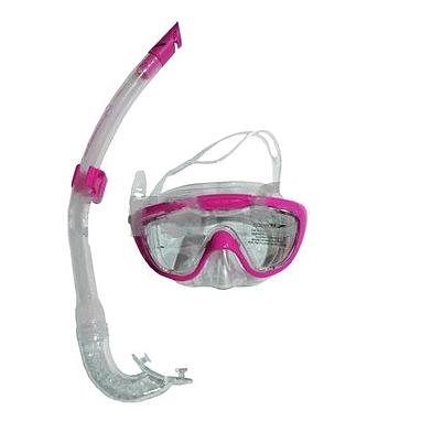 Набор для плавания Dorfin (ZLT) детский (маска+трубка) розовый