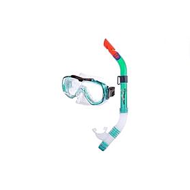 Фото 1 к товару Набор для плавания Dorfin (ZLT) детский (маска+трубка) зеленый