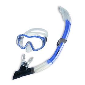 Набор для плавания Dorfin (ZLT) детский (маска+трубка) синий