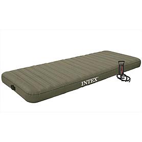 Фото 1 к товару Матрас надувной односпальный Intex 68711 (76х191х15 см)