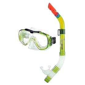Набор для плавания Dorfin (ZLT) детский (маска+трубка) серый