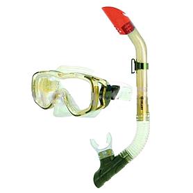 Набор для плавания Dorfin (ZLT) детский (маска+трубка) желтый