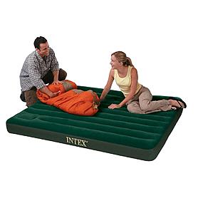 Матрас надувной двуспальный Intex 66929 (203х152х22 см)